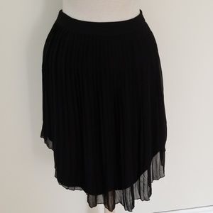 American Eagle Outfitters Skirts - **4 for $40** AEO Black Skirt Sheer High Low Sexy